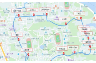 Wuhan University Campus Vehicle Networking System